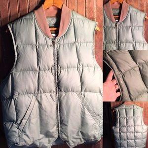 1980s made in USA Eddie Bauer down vest size 40